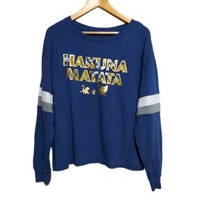 Disney The Lion King Hakuna Matata Sweater